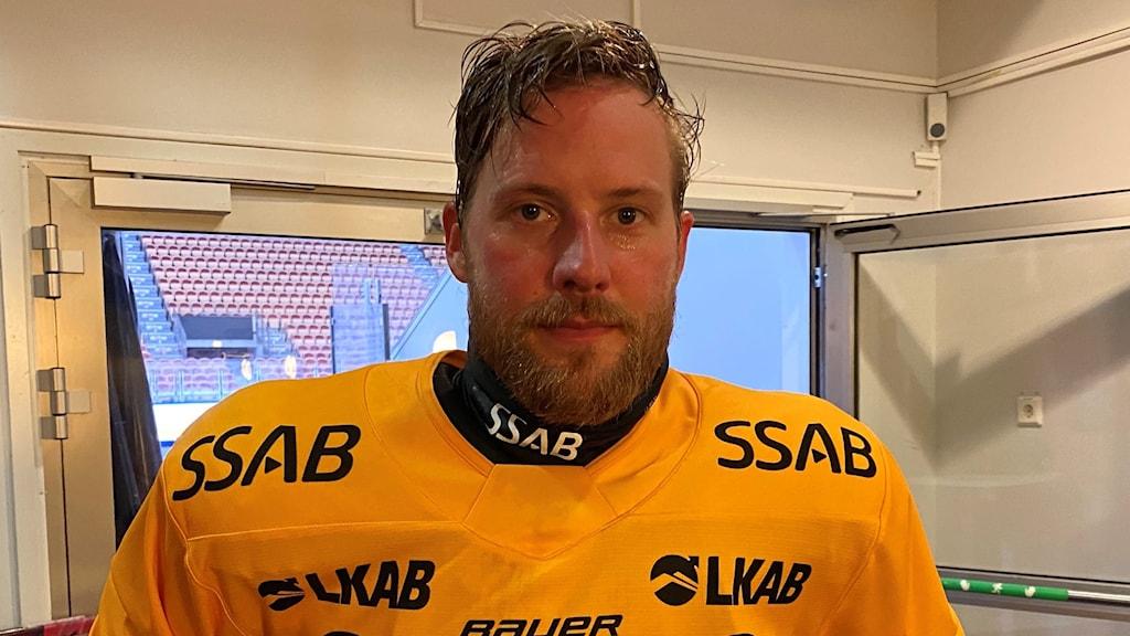 Luleå Hockeys Linus Omark.