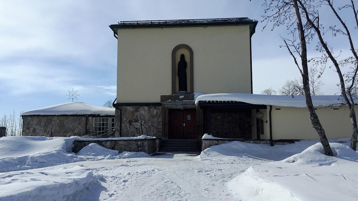 Kirunas krematorium.