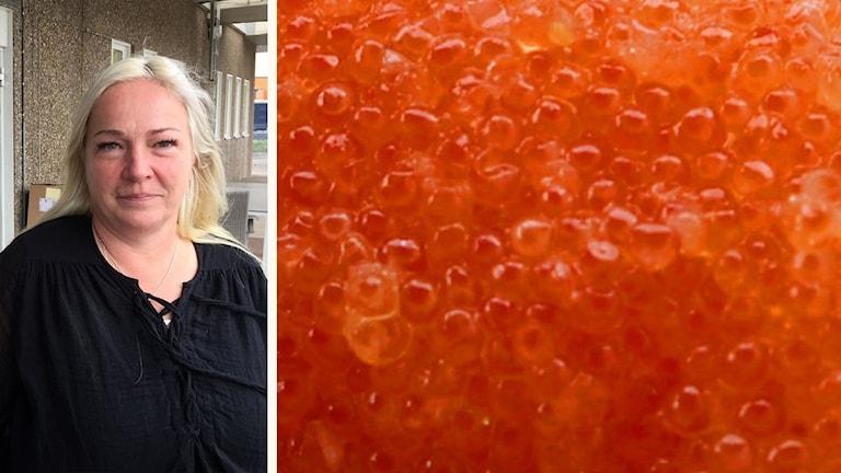 Veronica Apelqvist, vd för BD fisk.