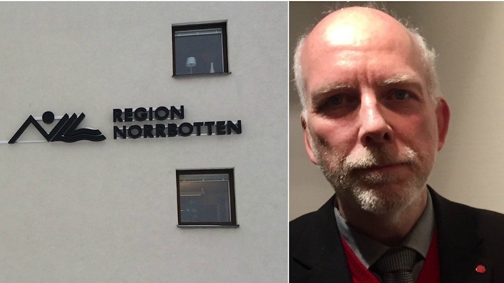 Oppositionsrådet Anders Öberg (S) och regionrådet Linda Frohm (M).