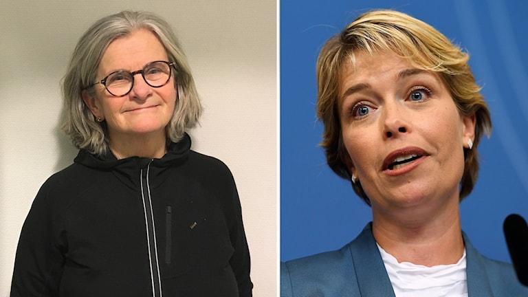 Meta Wiborg och Annika Strandhäll.