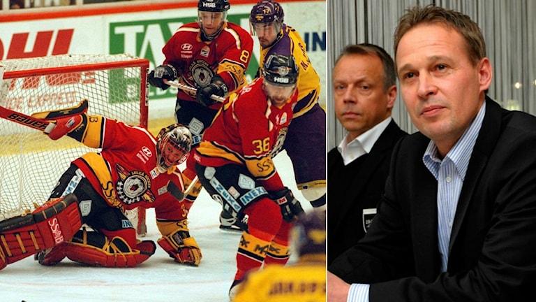 Jarmo Myllys är en av Luleå Hockeys bästa spelare genom tiderna och fick sin tröja pensionerad efter karriären.