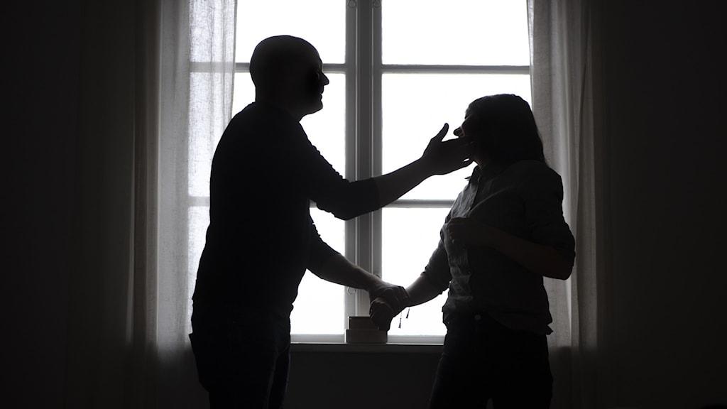 Våld i nära relation (genrebild).