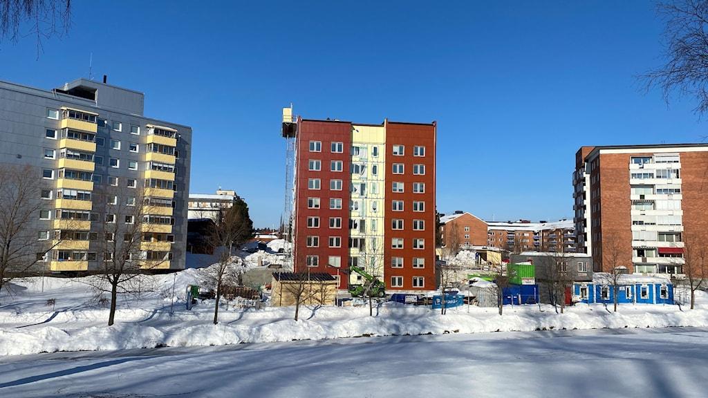 Bostadshus byggs i Boden.