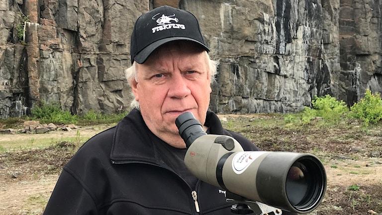 Berth-Ove Lindström, expert på rovfåglar.