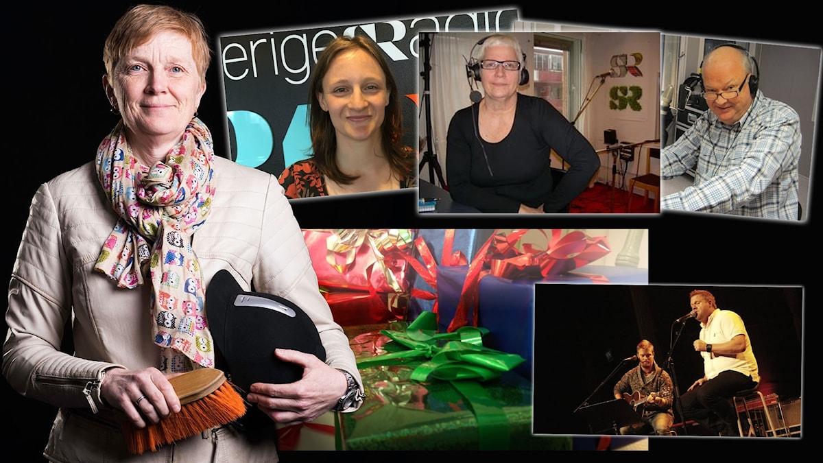 "Rimstuga i P4 Norrboten med Eleonor Norgren, Maja Runeberg, Eivor Bryngelsson ""Hantis"" Ohlsson samt artisten Patrik Öhlund."