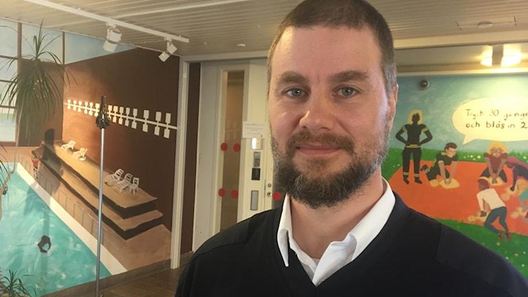 Mikael Andersson, ställföreträdande räddningschef vid Räddningstjänsten