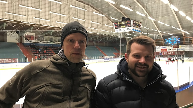 Cupgeneral Johan Sandstöm & André Samuelsson, SISU idrottsutbildarna Norrbottens idrottsförbund
