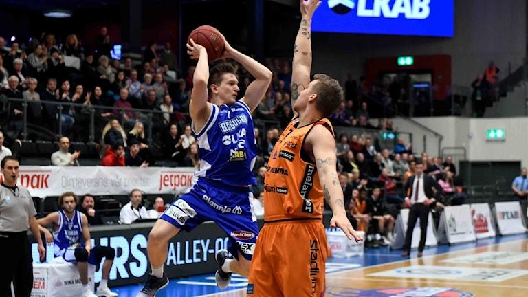 BC Luleås Adam Rönnqvist