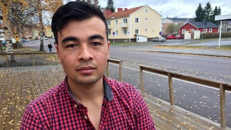 Muslim Rasuli, asylsökande Boden