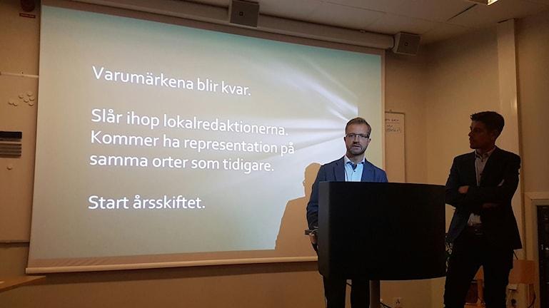 Mats Ehnbom, Kalle Sandhammar, Norrbottens media