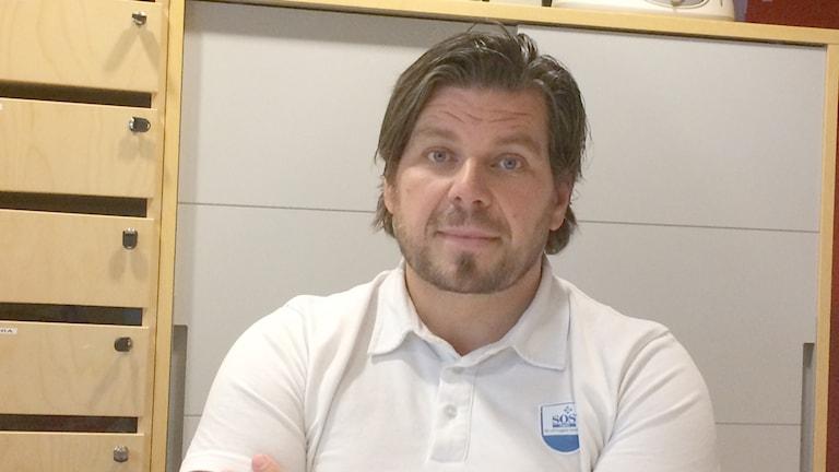 Daniel Lundin, platschef, SOS-Alarm