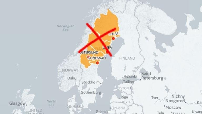 Det blir ingen storregion Norrland till 2019.