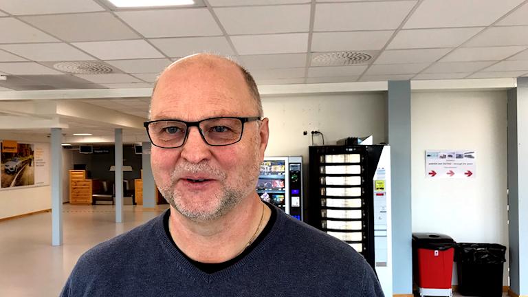 Ralf Lundberg, flygplatschef i Arvidsjaur.