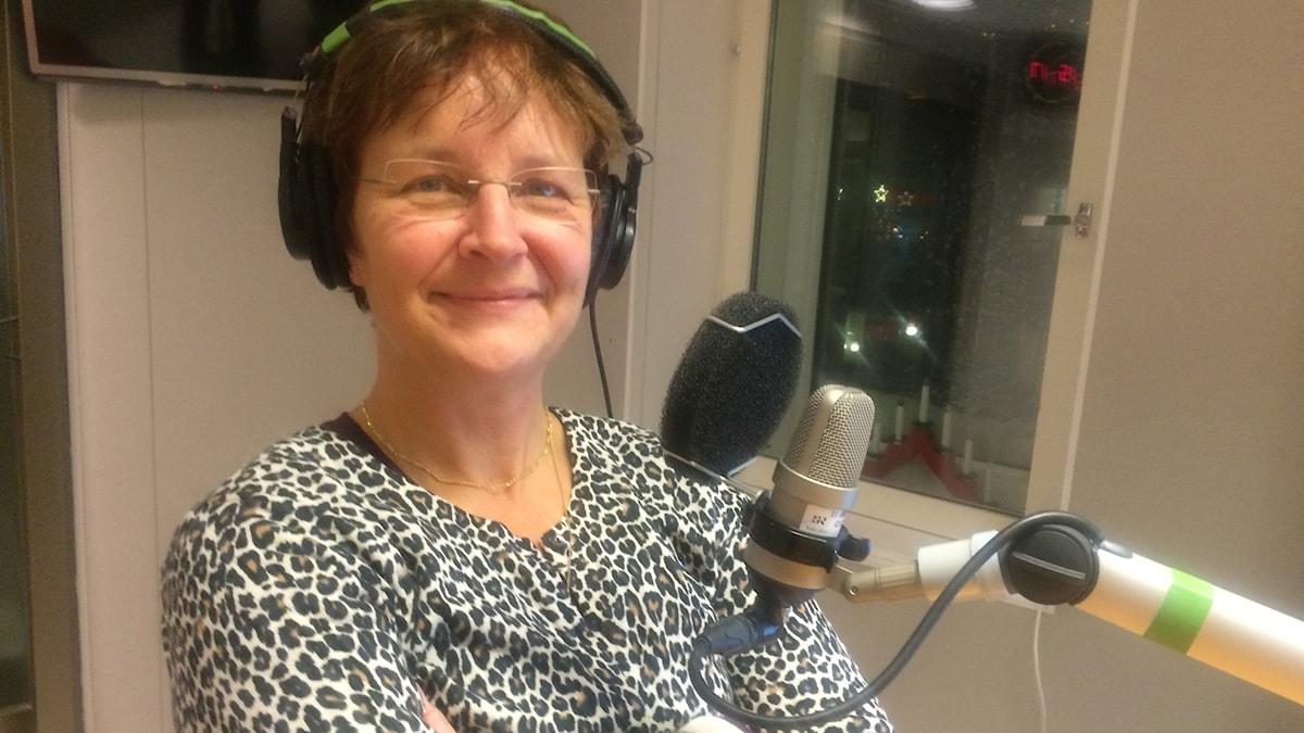 Britta Flinkfeldt är fredagsgäst i P4 Norrbotten.