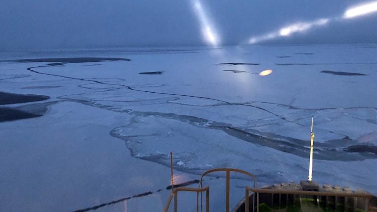 Bilden är tagen mellan Malören-Farstugrunden.