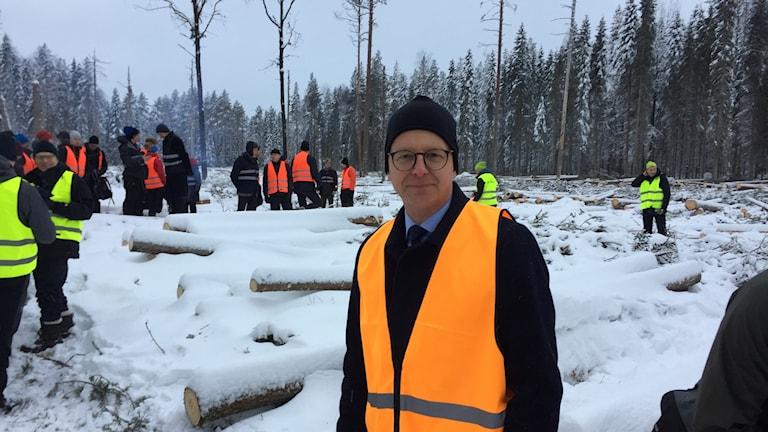 Mikael Damberg, näringsminister (S) besökte Norrbotten i går och sa att han hoppas Pajalagruvan öppnas igen.