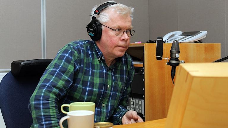 Kjell Törmä i Kiruna, veckans fredagsgäst.