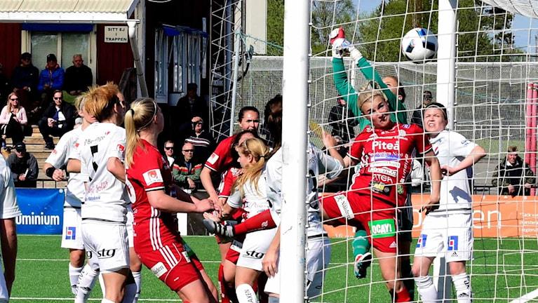 Piteå kvitterar i matchen mot Kvarnsveden till 2-2.