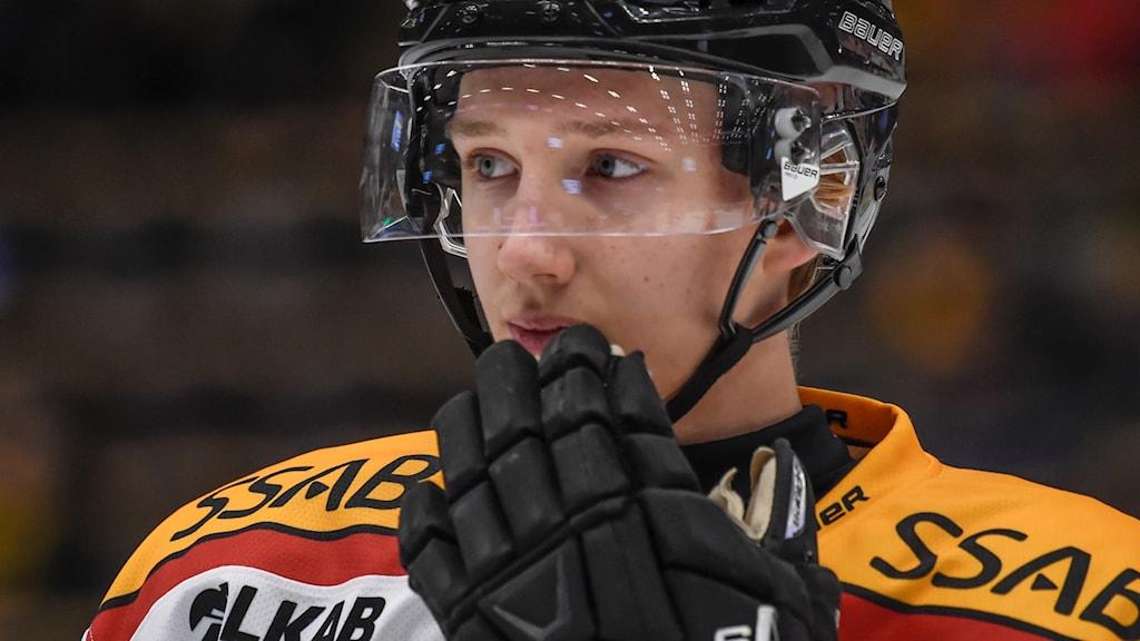 Luleå Hockeys Carl Mattsson.