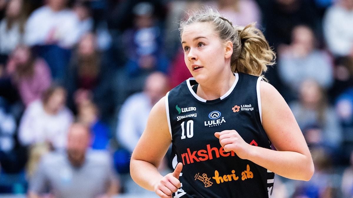 Matilda Åhlberg Luleå Basket