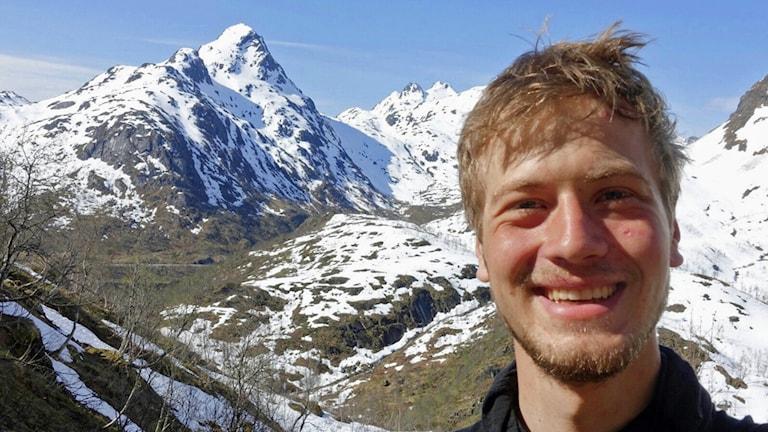 Aron Widforss på Lofoten.