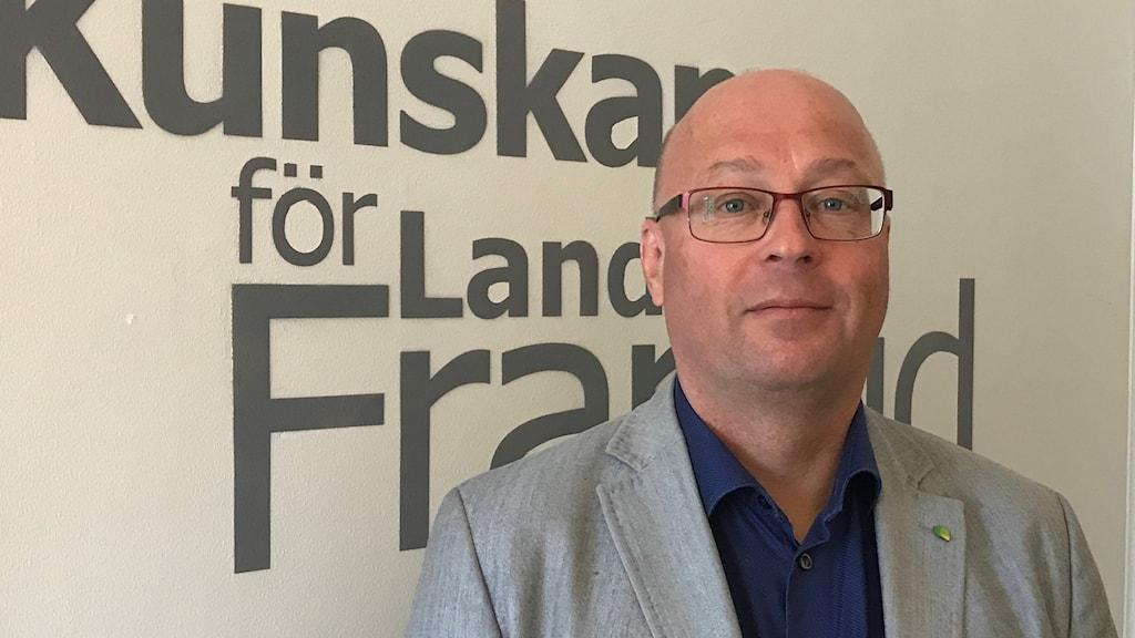 Mikael Kivijärvi är VD för Hushållningssällskapet i Norr- och Västerbotten.