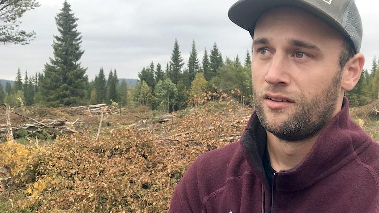 Emil Modig, skogvaktare på Statens fastighetsverk