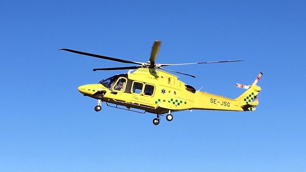 Den nya ambulanshelikoptern, Augusta Westland 169.