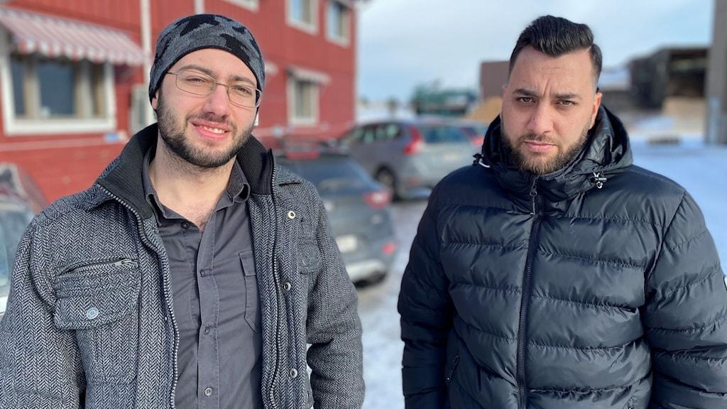 Firas Alhafiz och Fadi Alnaiimi, Kalix.