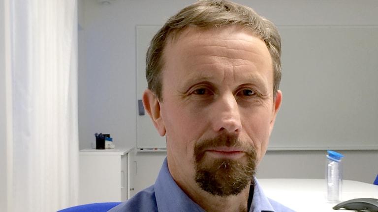 Lars Vikström, ansvarig för teknik och affärsutveckling på LKAB specialprodukter.