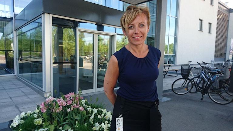 Susanne Andersson, utvecklingsledare vid landstinget i Norrbotten.