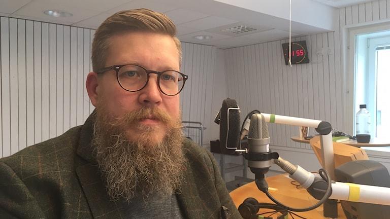 Simon Matti, statsvetare Luleå tekniska universitet