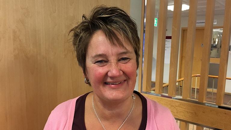 Ewa Karlsson Sjölander, verksamhetsutvecklare, äldreomsorgen.