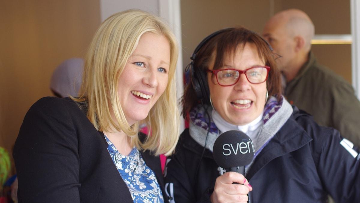 Ida Brännström intervjuas av Lena Callne.