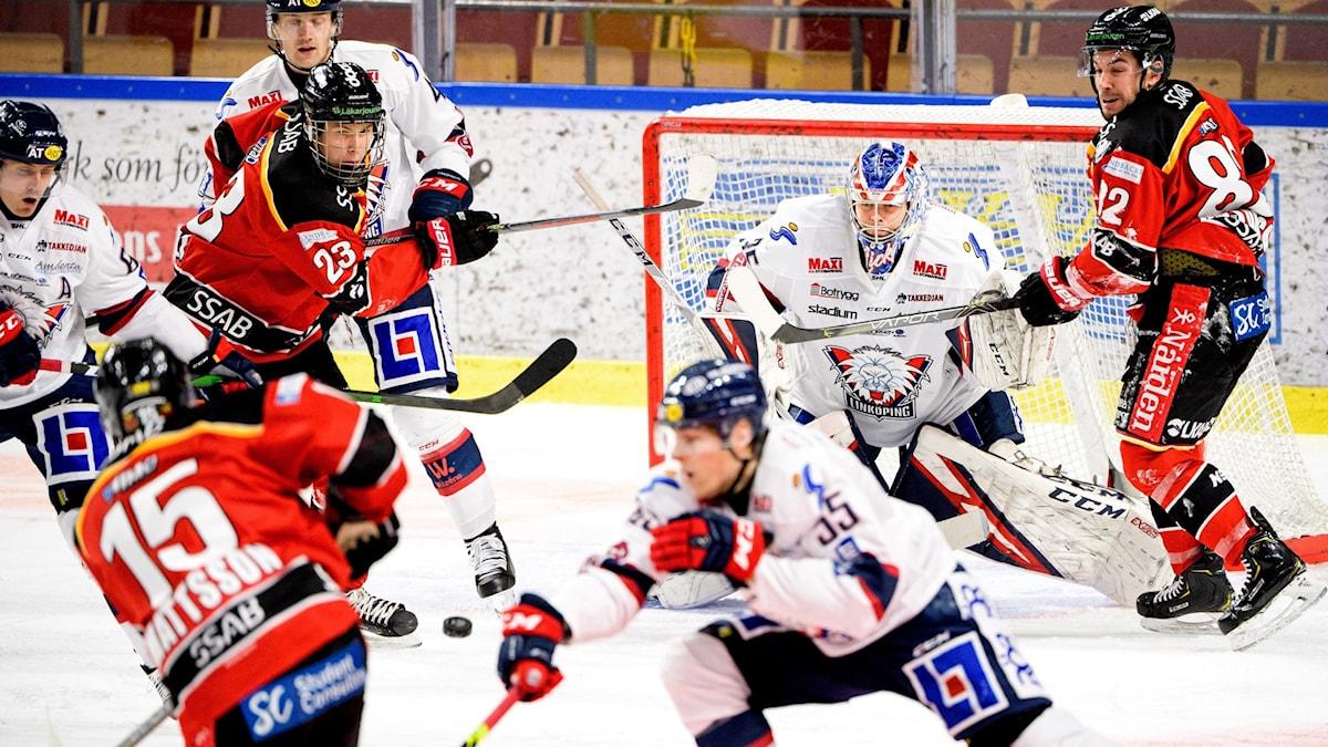 Carl Mattsson gör sitt första mål för säsongen