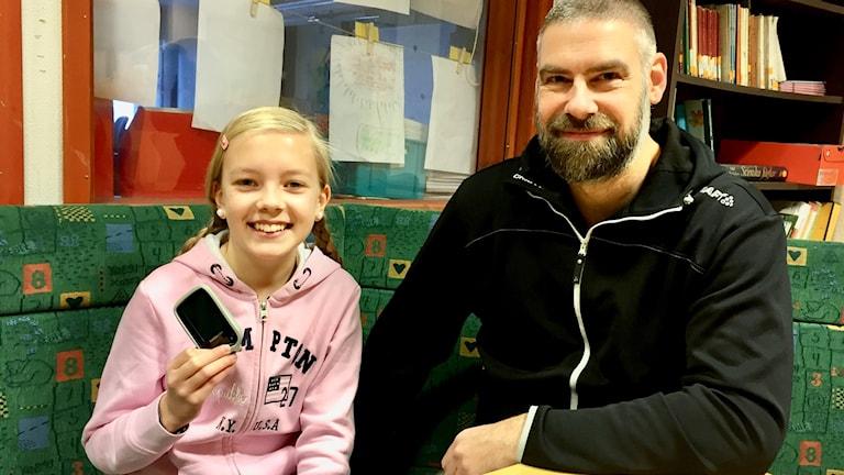Malvina och Robert Söderberg. Foto: Anna Lidé, Sveriges Radio