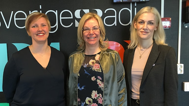 Från vänster: Carina Sammeli, Lenita Ericsson och Emma Engelmark