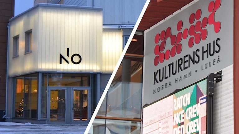 Norrlandsoperan i Umeå och Kulturens hus i Luleå.