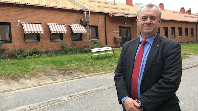 Sven-Erik Bucht (S), landsbygdsminister.