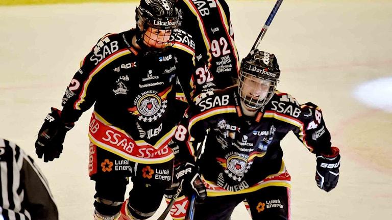 Luleå Hockey/MSSK jublar