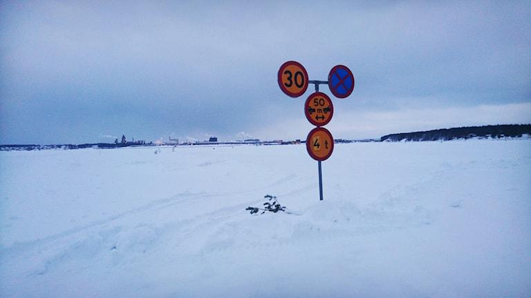 Isvägen, Luleå skärgård