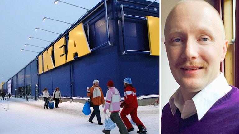 Ikea i Haparanda och chefen Helge Nilsson.