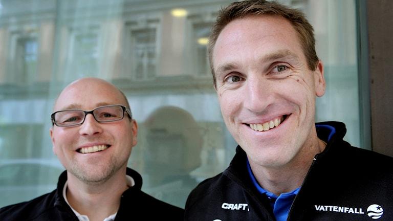 Joakim Abrahamsson och Magnus Ingesson var Sveriges förbundskaptener för längdskidlandslaget under vinter-OS 2010.