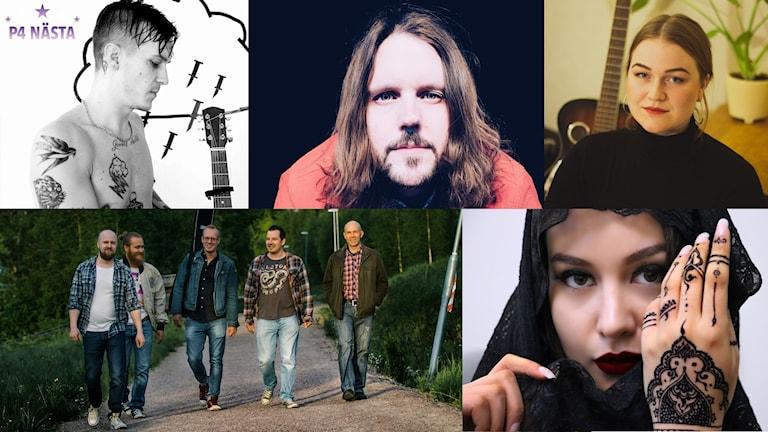 P4 Nästa 2019: Jimmy Saint, Jonah Griks, Ebba Bergkvist, Julma, Rommish.