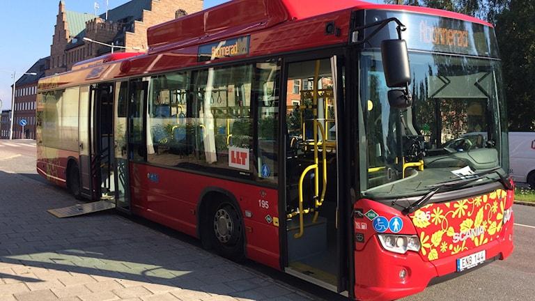 LLT:s biogasbuss.