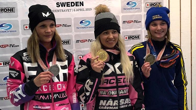 Elina Öhman segrare i snowcross-vm.