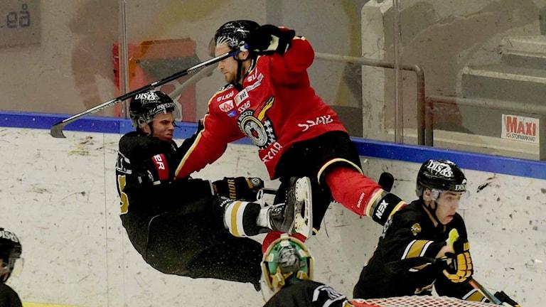 Luleå hockey i träningsmatch mot Oulun Kärpät