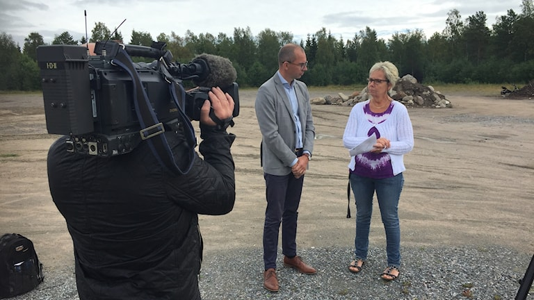 Niklas Nordström och Inger B Larsson