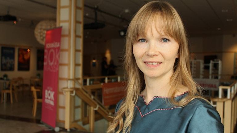 Ann-Helén Laestadius besöker Kiruna bokfestival.